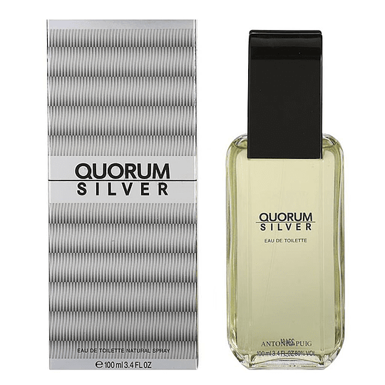 QUORUM SILVER EDT 100ML