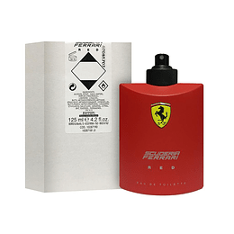SCUDERIA FERRARI RED TESTER EDT 125ML