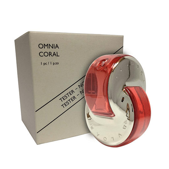 OMNIA CORAL TESTER EDT 65ML