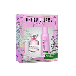 UNITED DREAMS LOVE YOURSELF ESTUCHE EDT 80ML + DESODORANTE 150ML