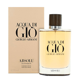 ACQUA DI GIO ABSOLU EDP 125ML