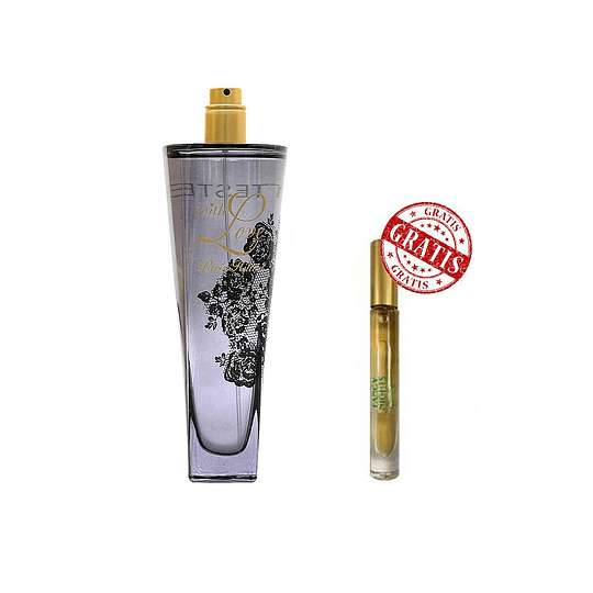 PACK DE WITH LOVE TESTER EDP 100ML CON FANCY NIGHTS MINI 6ML EDP ROLL ON