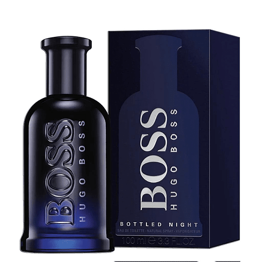 BOSS BOTTLE NIGHT EDT 100ML