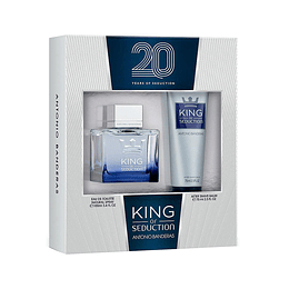 KING OF SEDUCTION ESTUCHE EDT 100ML+AF.SHAVE BALM 75ML