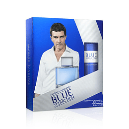 BLUE SEDUCTION HOMBRE ESTUCHE EDT 50ML+AF.SHAVE BALM 50ML