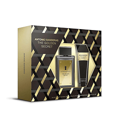 THE GOLDEN SECRET ESTUCHE EDT 100ML+AF.SHAVE BALM 75ML