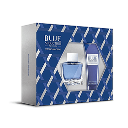 BLUE SEDUCTION ESTUCHE EDT 100ML+AF.SHAVE BALM 75ML