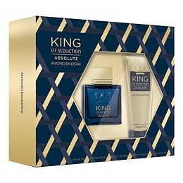 KING OF SEDUCTION ABSOLUTE ESTUCHE EDT 100ML+AF.SHAVE BALM 75ML
