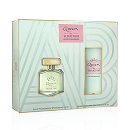 QUEEN OF SEDUCTION ESTUCHE EDT 80ML+DESODORANTE 150ML