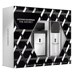 THE SECRET ESTUCHE EDT 100ML+DESODORANTE 150ML