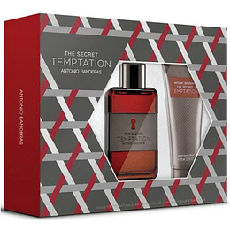 THE SECRET TEMPTATION ESTUCHE EDT 100ML+AF.SHAVE BALM 75ML