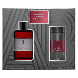 THE SECRET TEMPTATION ESTUCHE EDT 100ML+DESODORANTE 150ML