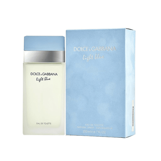 LIGHT BLUE MUJER EDT 200ML
