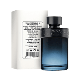 HALLOWEEN MAN X TESTER EDT 125ML