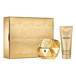 LADY MILLION ESTUCHE EDP 80ML+LOCION 100ML.