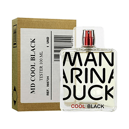 MANDARINA COOL BLACK TESTER EDT 100ML