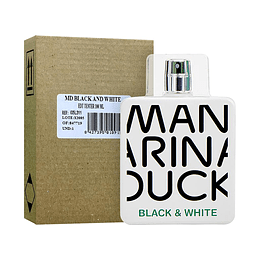 MANDARINA DUCK BLACK & WHITE TESTER EDT 100ML