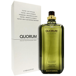 QUORUM TESTER EDT 100ML