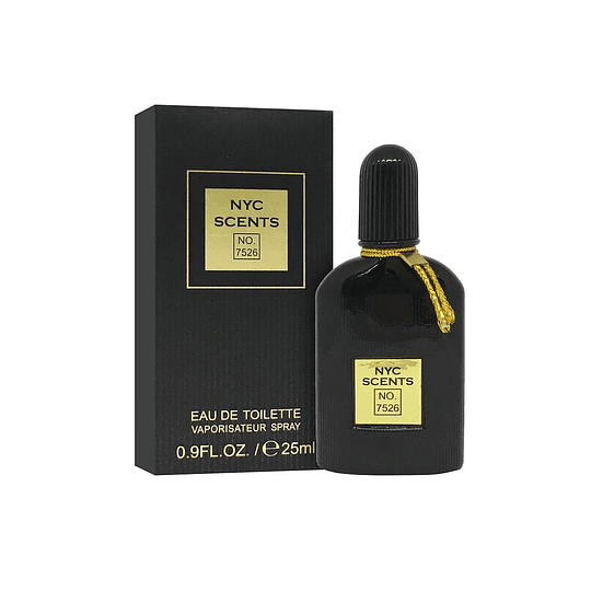 NYC SCENTS NO.7526 EDT 25ML