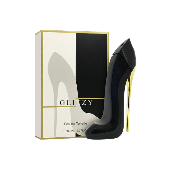 GLITZY EDT 80ML (CAJA NEGRA-BLANCA)