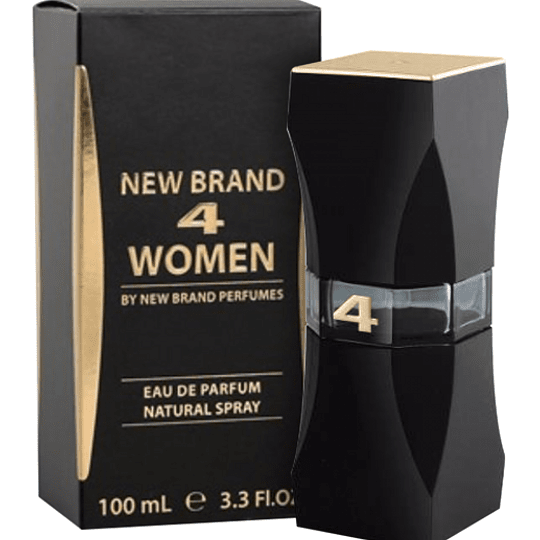 NEW BRAND 4 WOMEN EDP 100ML.