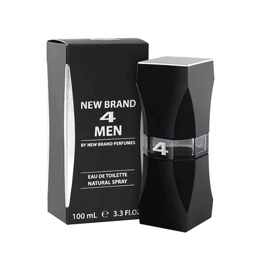 NEW BRAND 4 MEN EDT 100ML.