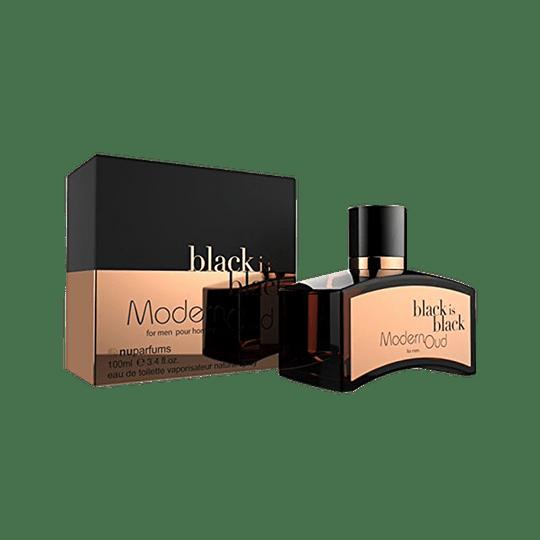 BLACK IS BLACK MODERN OUD EDT 100ML