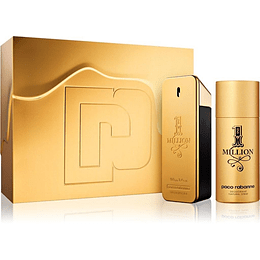 1 MILLION ESTUCHE EDT 100ML + DESODORANTE 150ML