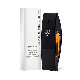 MERCEDES BENZ CLUB BLACK TESTER EDT 100ML