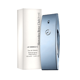 MERCEDES BENZ CLUB FRESH TESTER EDT 100ML