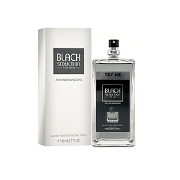 SEDUCTION IN BLACK TESTER EDT 80ML