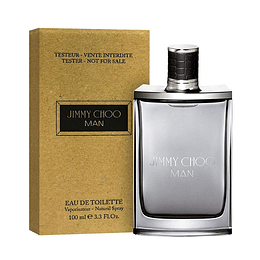 JIMMY CHOO MAN TESTER EDT 100ML