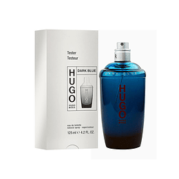 HUGO DARK BLUE TESTER EDT 125ML (NO CAP)