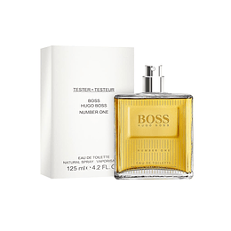 BOSS #1 TESTER EDT 125ML (NO CAP)
