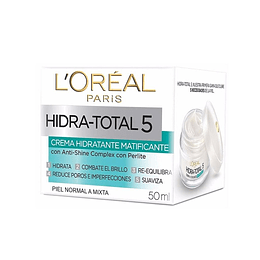 CREMA HIDRATANTE MATIFICANTE HIDRA TOTAL 50ML