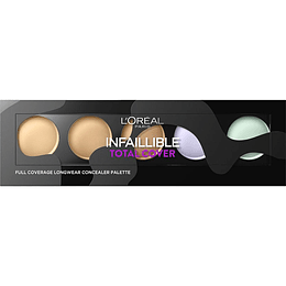 INFAILLIBLE TOTAL COVER CONCEALER PALETT