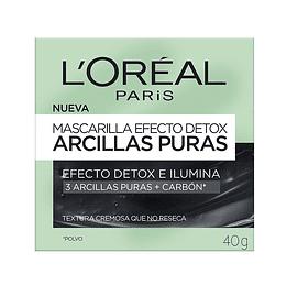 MASCARILLA EFECTO DETOX ARCILLAS PURAS 40G