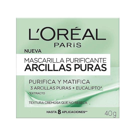 MASCARILLA PURIFICANTE ARCILLAS PURAS 40G