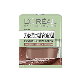 MASCARILLA EXFOLIANTE 50ML, MASCARILLA PURE CLAY EXFO/ALISANTE