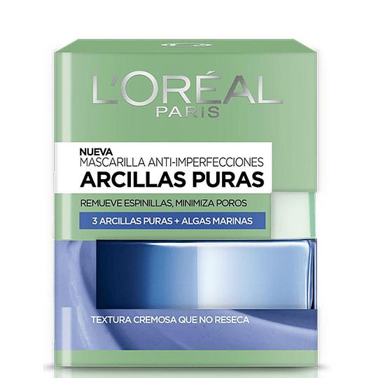 MASCARILLA ANTI-IMPERFECCIONES CLAY BLUE 50ML
