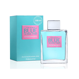 BLUE SEDUCTION MUJER EDT 200ML