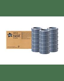 Sangenic Recargas Mastercarton 18 Pack + Container