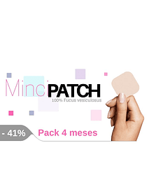 Minci Patch 120 dias 41% Desc