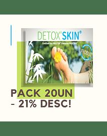 DetoxSkin Pack 20un Desc 21%