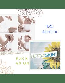 DetoxSkin Pack 40un Desc 43%