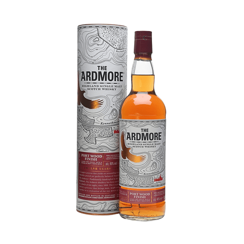 Ardmore 12 Year Old Port Wood Finish