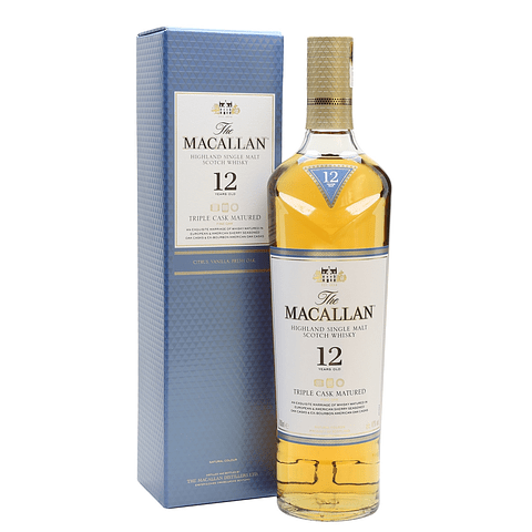 Macallan 12yo Triple Cask Matured