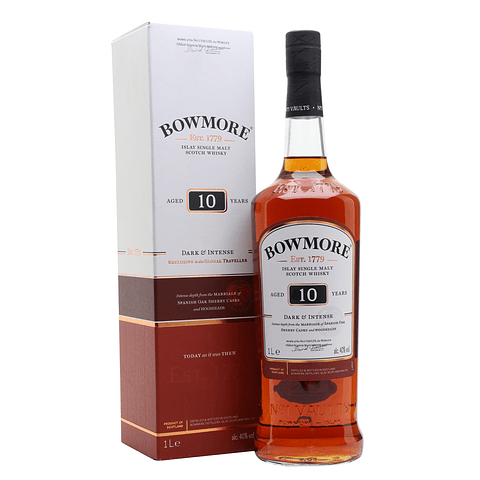 Bowmore 10 Year Old Dark & Intense 1L