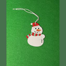 Etiqueta Boneco de Neve
