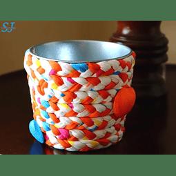 Vaso Trapilho Conchas